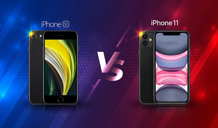 รีวิวเปรียบเทียบสเปค iPhone SE กับ iPhone 11